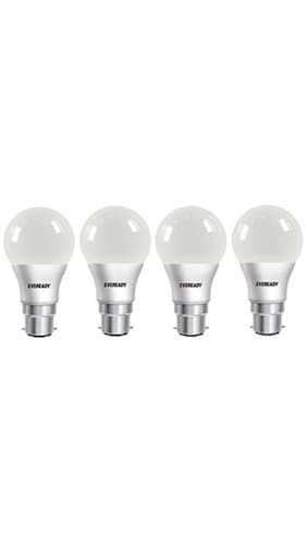 Eveready 7W 6500K Pack of 4 LED Combo