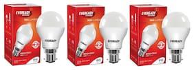 Eveready 9 W B22D LED Bulb (Pack of 3)