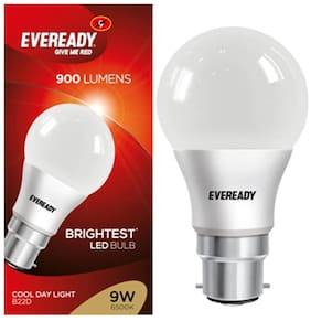 Eveready 9 Watt Cool Daylight B22D LED Bulb