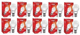 Eveready 9W-6500K Cool Day Light Pack of 10 Led Bulbs