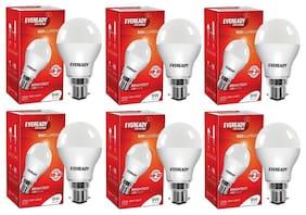 Eveready 9W-6500K Cool Day Light Pack of 6 Led Bulbs