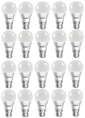 Eveready 9W-6500K Cool Day Light Pack of 20 Led Bulbs