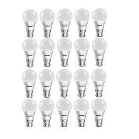 Eveready 9W-6500K Cool Day Light 20 Pc Bulb Pack with Free Battery