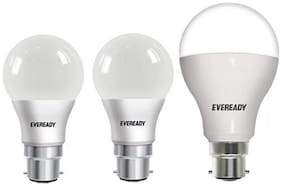 Eveready 9W Pack of 2 & 12W-1 Pc Cool Day Light BHK Pack