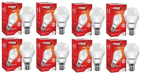 Eveready 9W-6500K Cool Day Light Pack of 8 Led Bulbs