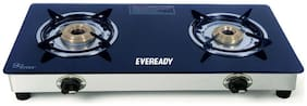 Eveready 2 Burners Gas Stove - Black