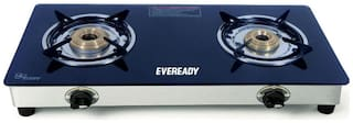 Eveready 2 Burners Gas Stove - Black