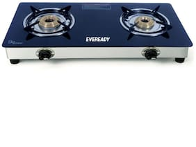Eveready TGC 2 Burner Glass Manual Gas Stoves