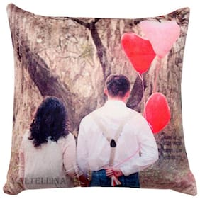 Express your love with Welhouse India Perfact Couple Print Cushion For Your Special One