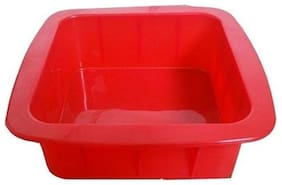 Ezee 15.24 cm (6 inch) Square Cake Mould 2.5 inch Depth