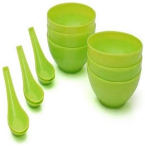 Faaa KITCHEN SOUP BOWL SET OF 6 BOWL WITH 6 SPOON