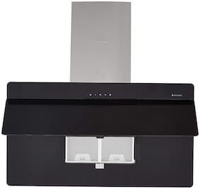 FABER Wall Mounted 90 cm 1095 m3/h Black Chimney ( 110.0457.947 )