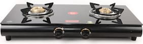 Fabiano 2 Burner Manual Regular Black Gas Stove