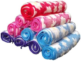 Face towel (set of 10) multicolour