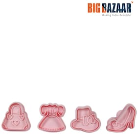 Fackelmann 4 Pcs Girl's Cookie Mould Set (5246181)
