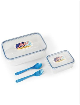 Fair Food Air Tight & Leak Proof Lunch Box with Fork and Spoon