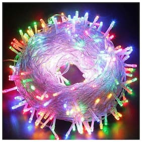 Diwali Led Fairy String Lights 12M 54 LEDs for home d cor and Diwali decoration multicolor [ Set of 1]