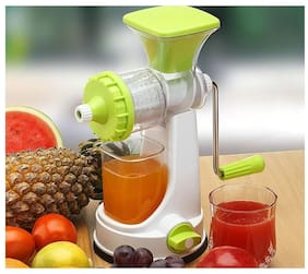 Famous Fruits and Vegetable Juicer with Steel Handle ( Assorted Colors )