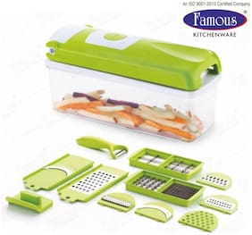 Famous High Quality Unbreakable 12 in 1 Chopper, Vegetable & Fruit Grater, Slicer, Cutter, Vegetable & Fruit Chopper