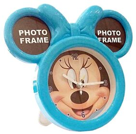 Fancy  Alarm Clock With Photo Frame