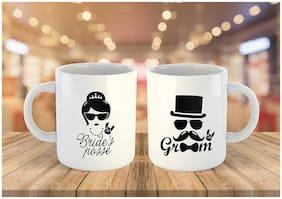Fantaboy Valentine Day Printed Coffee Mug Set Of 2 For Gift