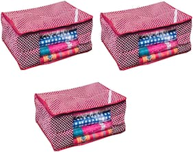 Fashion Bizz Cotton Cover ( Set Of 3 )