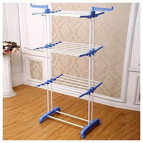 FAVOUR Stainless steel Floor Cloth Dryer ( Blue ,Maximum Load: Upto 10kg kg )