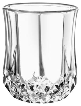FC  Deluxe Lead Free Crystaline Whiskey Glasses Set of 6 Pcs 300 ml 1 Oz