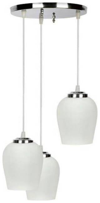 FDS Chandelier Ceiling Lamp white Oval shape