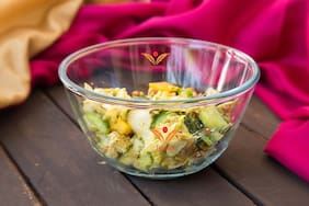 Femora Borosilicate Mixing Bowl Microwave Safe- 2100ml;1 Year Warranty