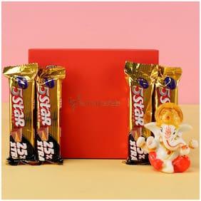 Ferns N Petals Ganesha Idol Five Star Box | Gift For Diwali | Diwali Idols | Festive Idols