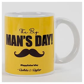 Ferns N Petals happy fathers day mug