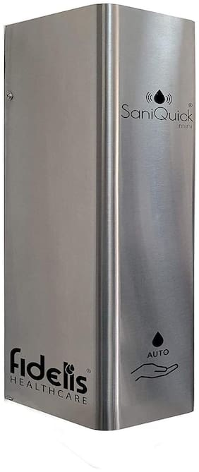 FIDELIS HEALTHCARE Mini Automatic Touchless Sanitizer Dispenser, Soap Dispenser Machine, 1 L   Wall Mounted