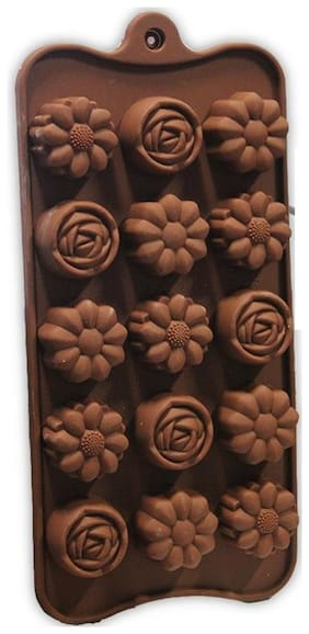 Flair High Quality Food Grade Silicone Flower Shape Chocolate Mould/Ice/Sweet Mould