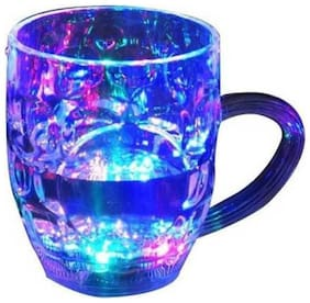 Flashing 7 Colour Changing Liquid Activated Mug Pack of 2