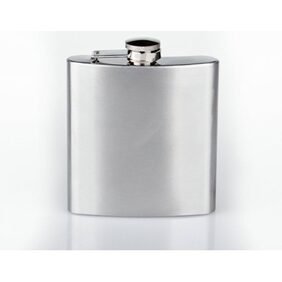 Pia International FIRST QUALITY - Latest Stainless Steel Hip Flask Or Wine Holder 198.44 g (7 Oz)