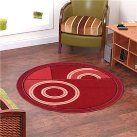 Status  RED Taba Medium Dressing Room Carpet- 1 Pc