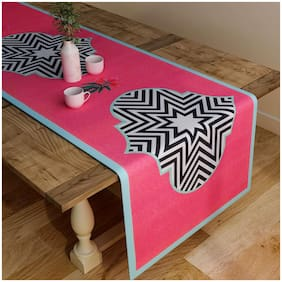 Floral Pink Table Runner