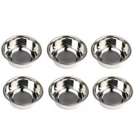 Floranso Stainless Steel Veg Bowl Set of 6