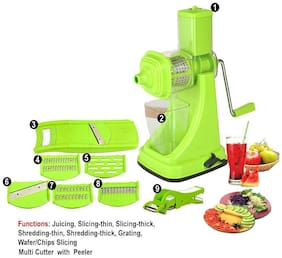 Floraware Juicer Slicer Cutter (Kitchen Combo Set Of 9)
