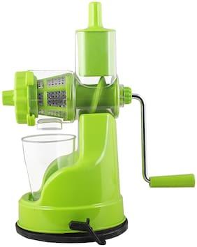 Floraware Plastic Hand Juicer, Green