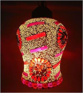 Flower Design Lamp Shade for Ceiling Lights Decorative Design beautiful Mosaic Pattern pendant