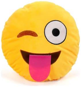 Cortina Fluting Smiley Pillow