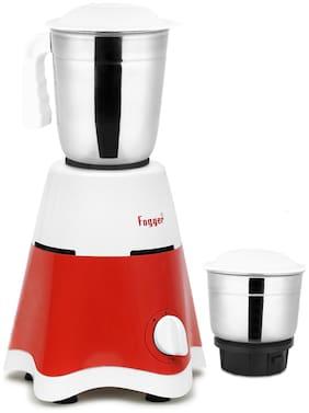 Fogger STAR 500 W Mixer Grinder ( Red & White , 2 Jars )