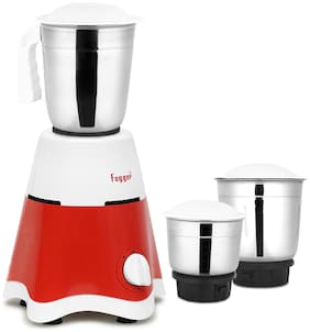Fogger FMG-500 500 W Mixer Grinder ( Red & White , 3 Jars )