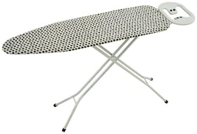 Foldable Ironing Board Table 110 x 33 cm Queen Iron Stand with Black Dot - Eurostar