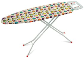 Foldable Ironing Board Table 110 x 33 cm Queen Iron Stand with Iron Design - Eurostar