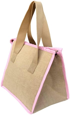 Foonty Daily Use Lunch Bag (Beige;7032)