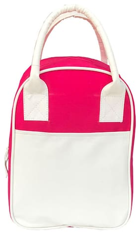 Foonty Daily Use Lunch Bag (Pink;7028)