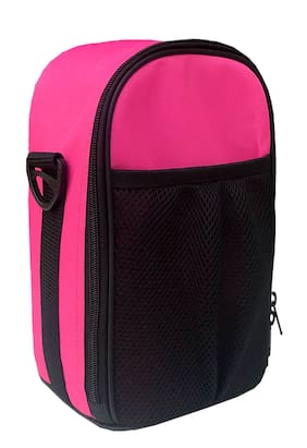 Foonty Daily Use Waterproof Lunch Bag (Pink;7030)
